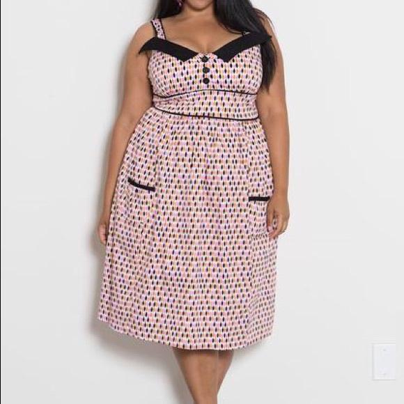 Pin Up Sweetheart Dress